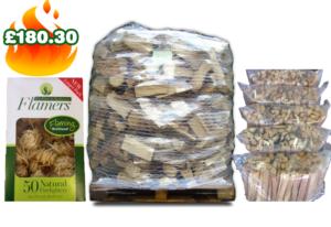 fire starter Kiln Dried Softwood Logs